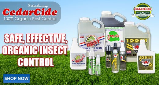 CedarCide Safe,Effective,Organic Insect Control