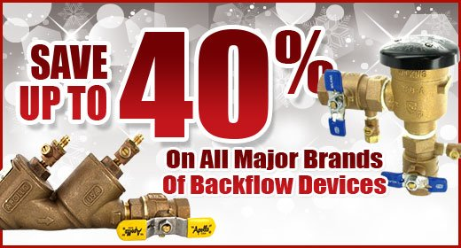 Save Up to 40% on Backflow