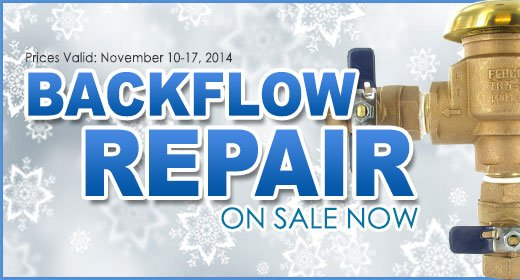 Backflow Repair and Winterization