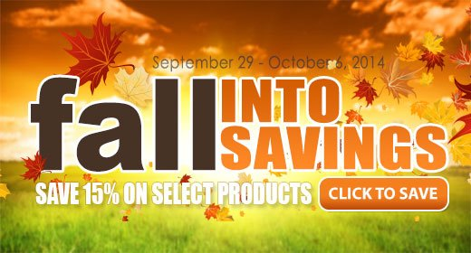 Save 15% on Select Irrigation Products