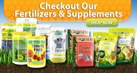 Checkout Our Fertilizers and Supplements