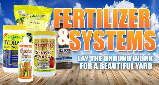 Fertilizer & System Sale