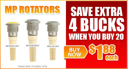 MP Rotators - Save $4 on 20 or More