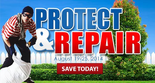 Protect and Repair your Sprinkler System