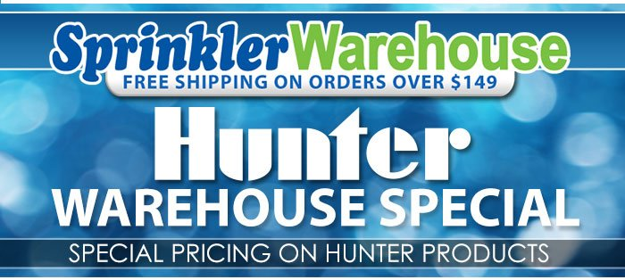 Special Pricing on Select Hunter Products
