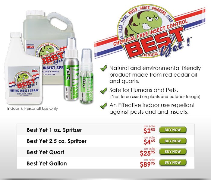 Best Yet Chemical Free Insect Control