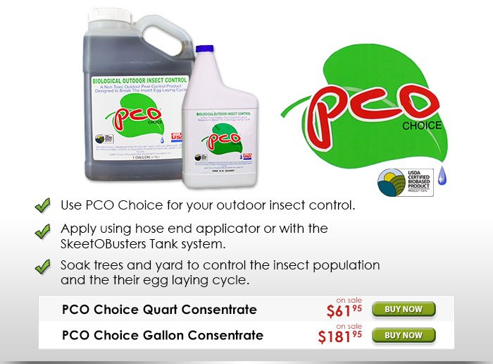 PCO Choice Biological Outdoor Insect Control