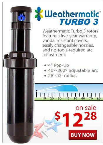 Weathermatic Turbo 3 Rotor on Sale!