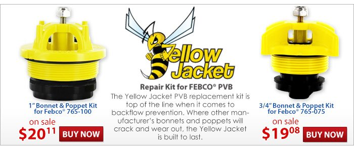 Yellow Jacket Backflow Repair Kits