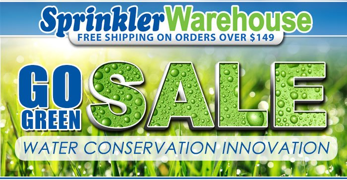 Go Green - Water Conservation Innovation - SALE!