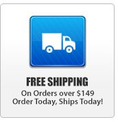Free Shipping on Orders Over $149
