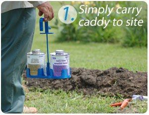 Spill Stopper - Carry caddy to site