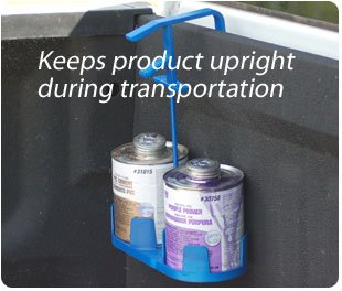 Spill Stopper - Keeps glue upright during transportation