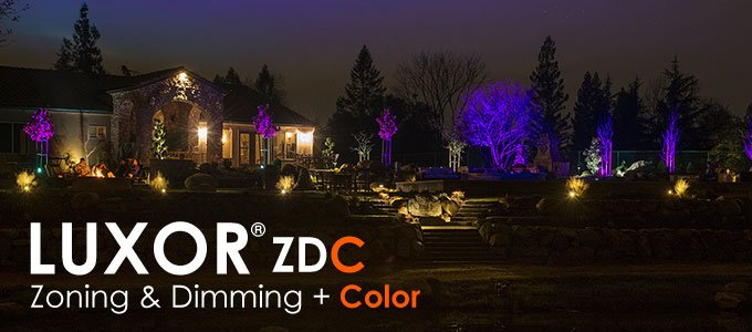 FX Luxor LZDC Lighting Power Controller With Dimming Color