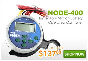 Hunter Node-400 Battery Operated Four Station Controller