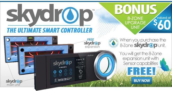 Bonus SkyDrop Expansion Unit with Purchase of Skydrop Main Unit