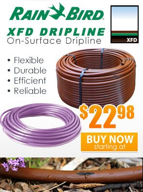 Rain Bird XFD Surface Dripline