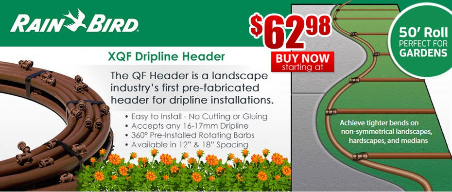 Rain Bird XFQ Dripline Header