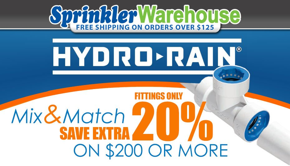 Hydro-Rain Mix & Match
