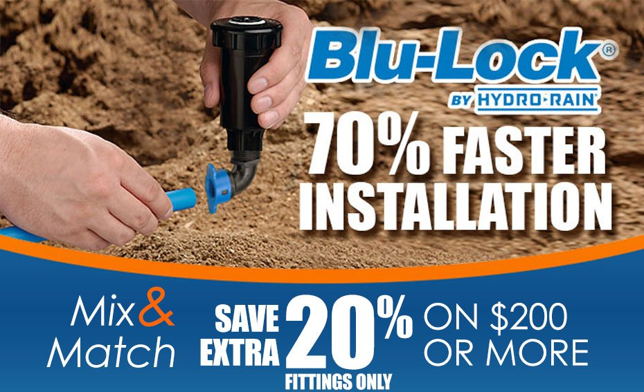Hydro-Rain Mix & Match | BLU-LOCK 70% FASTER