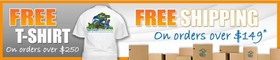 Free T-Shirt on orders over $250 and Free Shipping on orders over $149*